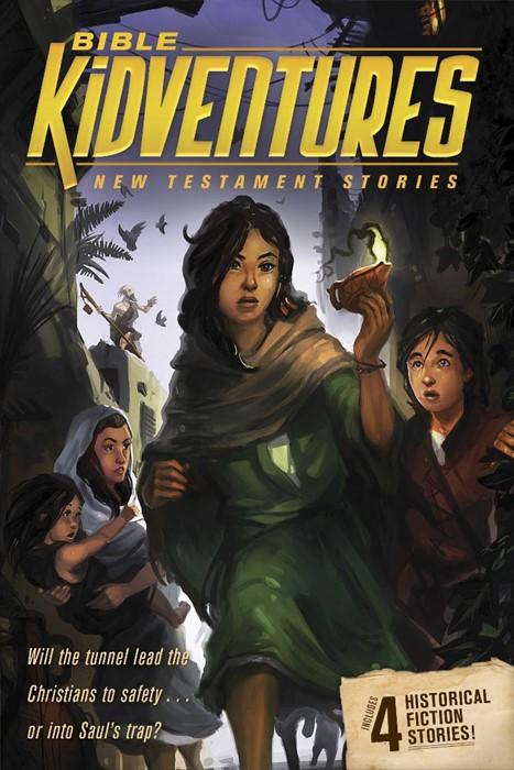 Bible Kidventures New Testament Stories (Paperback)