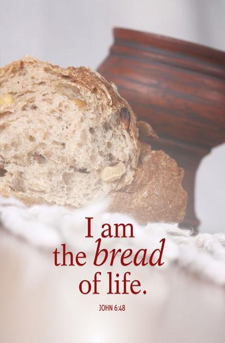 Bread Communion Bulletin (Pkg of 50) (Bulletin)