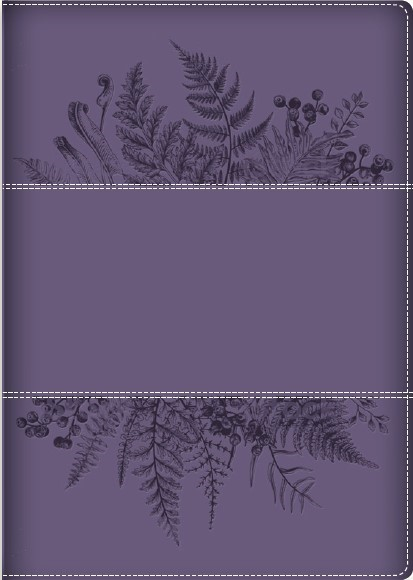 Young Woman After God's Own Heart Bible, Purple (Imitation Leather)