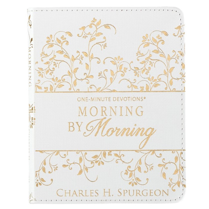 One Minute Devotions Morning by Morning (Imitation Leather)