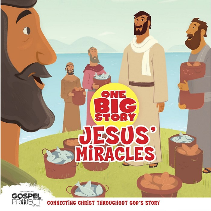 Jesus' Miracles (Board Book)