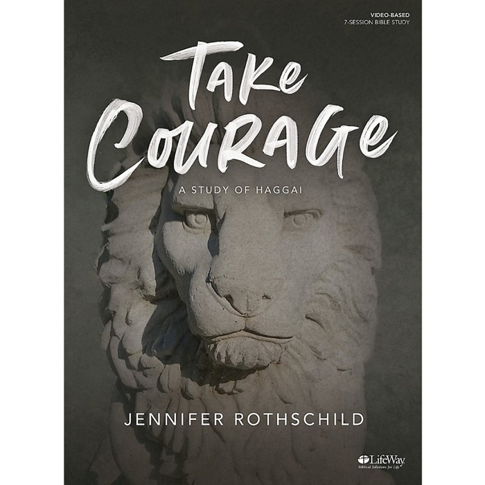 Take Courage Bible Study Book (Paperback)