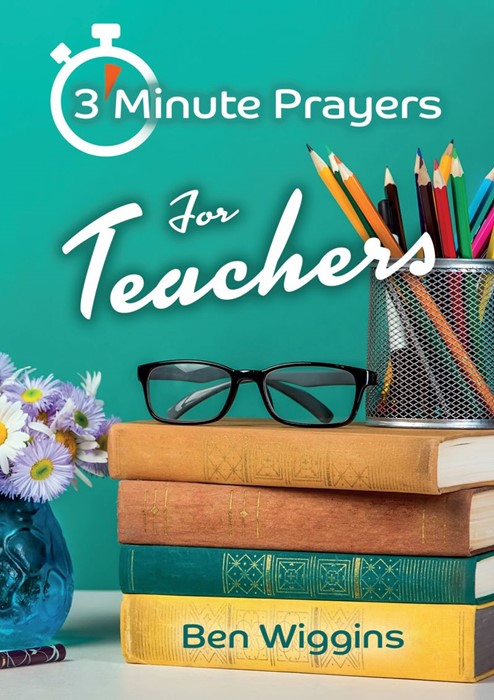 3 Minute Prayers for Teachers (Paperback)