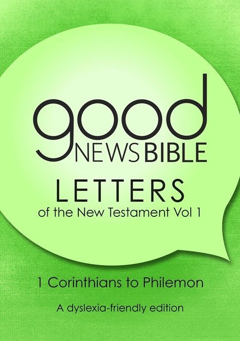 GNB The New Testament Letters, Volume 1 (Dyslexia Friendly) (Paperback)