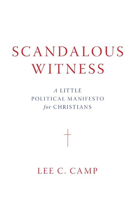 Scandalous Witness (Hard Cover)
