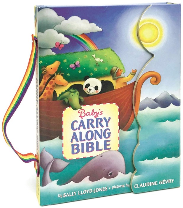 Baby's Carry Along Bible (Board Book)