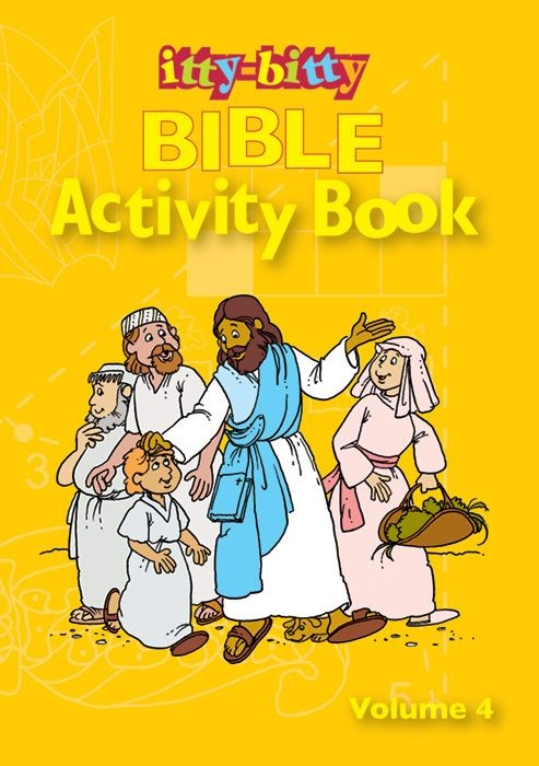 Itty-Bitty Bible Activity Book Volume 4 (Paperback)