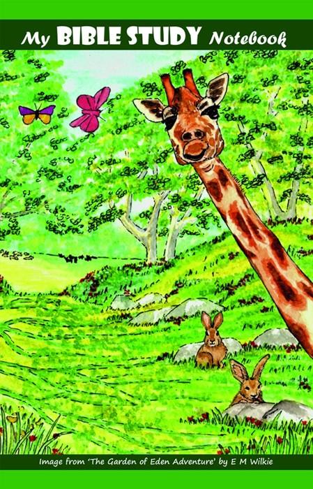 Giraffe Notebook (Paperback)