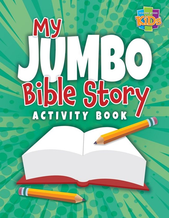 My Jumbo Bible Story Activity Book (Paperback)