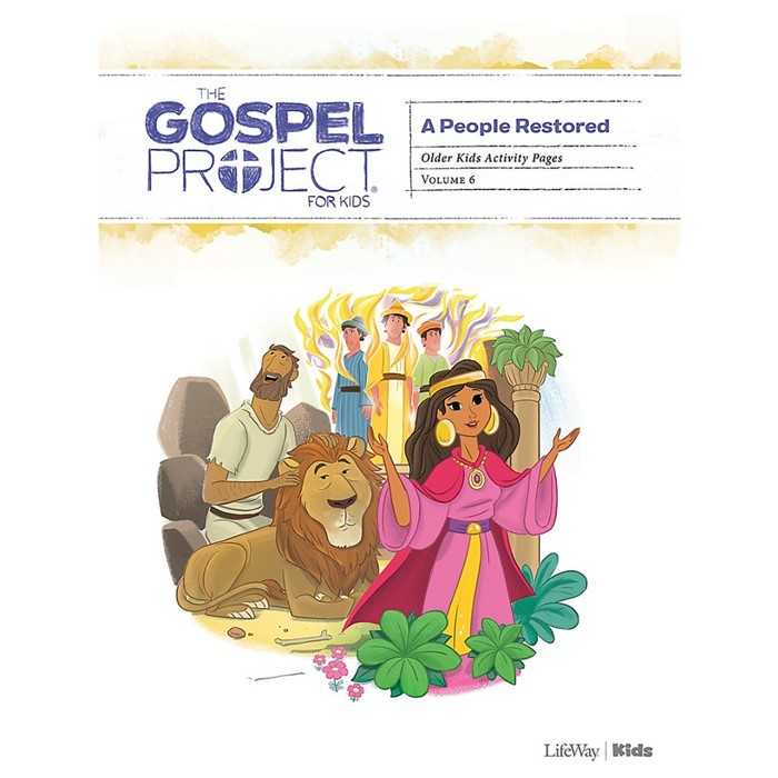Gospel Project: Older Kids Activity Pages, Winter 2020 (Paperback)