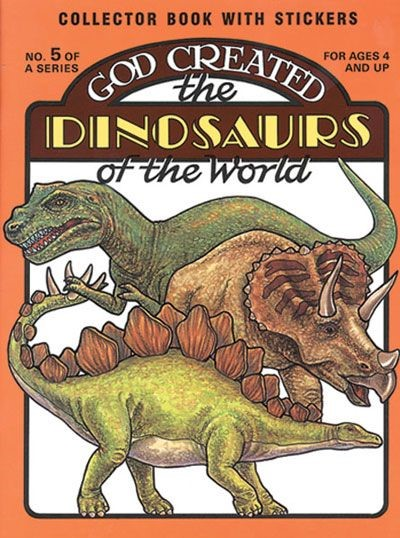 God Created the Dinosaurs of the World (Paperback)
