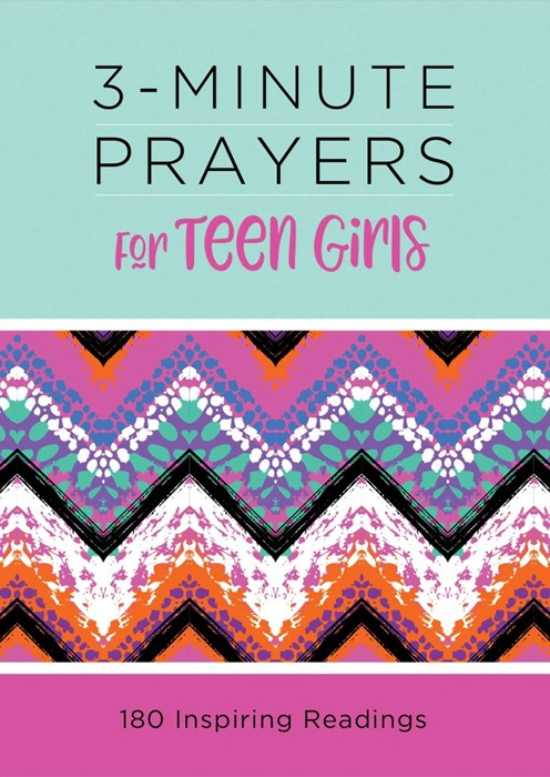 3-Minute Prayers for Teen Girls (Paperback)