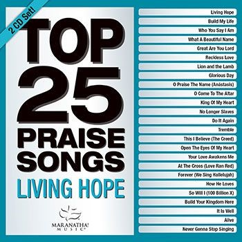 Top 25 Praise Songs: Living Hope CD (CD-Audio)