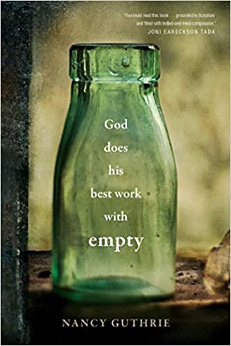God Does His Best Work with Empty (Hard Cover)