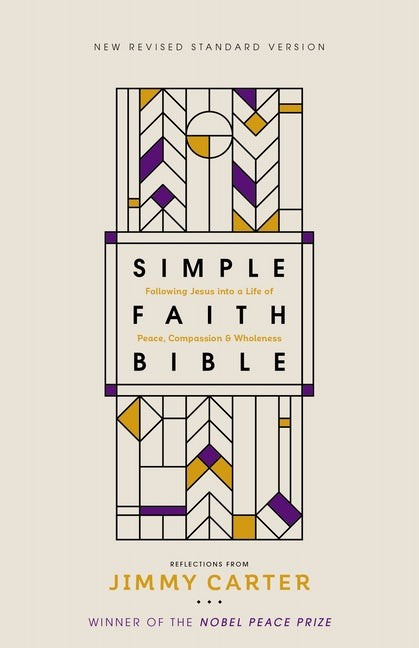 NRSV Simple Faith Bible, Comfort Print (Hard Cover)