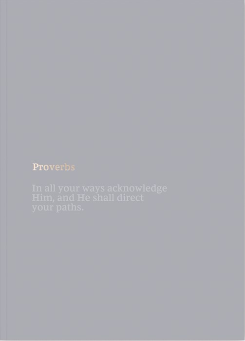 NKJV Bible Journal: Proverbs (Paperback)