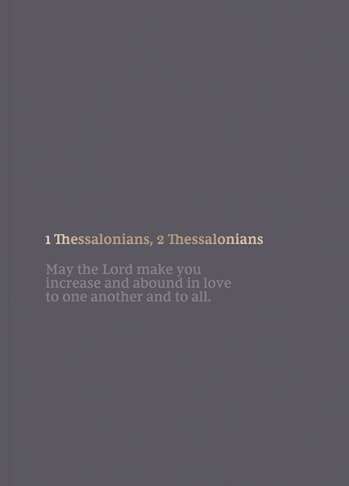 NKJV Bible Journal: 1-2 Thessalonians (Paperback)