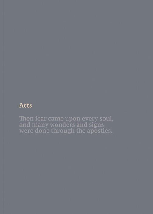NKJV Bible Journal: Acts (Paperback)