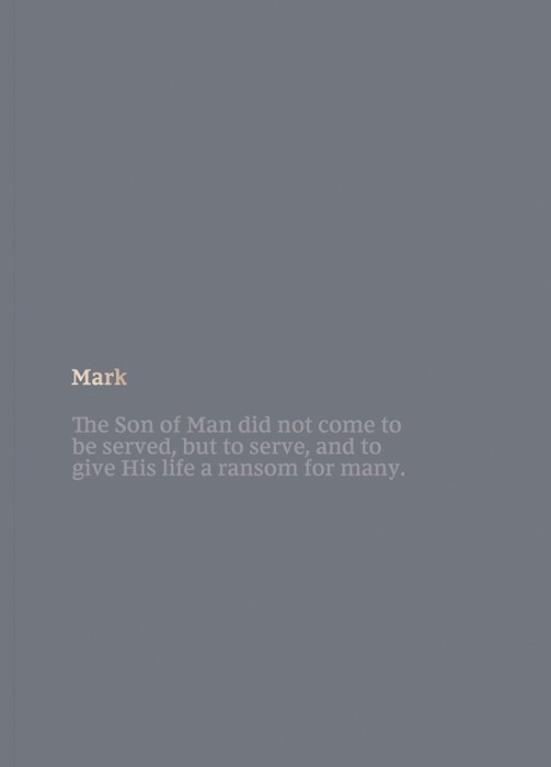 NKJV Bible Journal: Mark (Paperback)