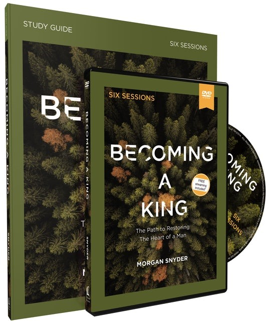 Becoming a King Study Guide with DVD (Kit)