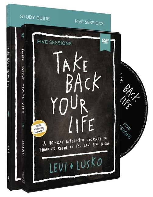 Take Your Life Back Study Guide with DVD (Kit)