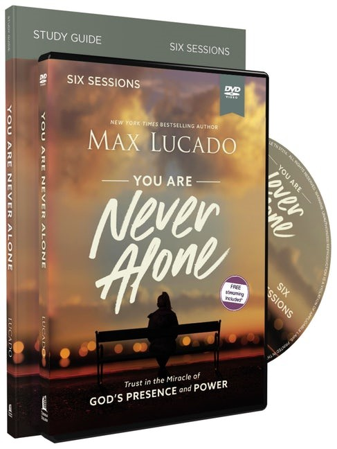 You Are Never Alone Study Guide with DVD (Kit)