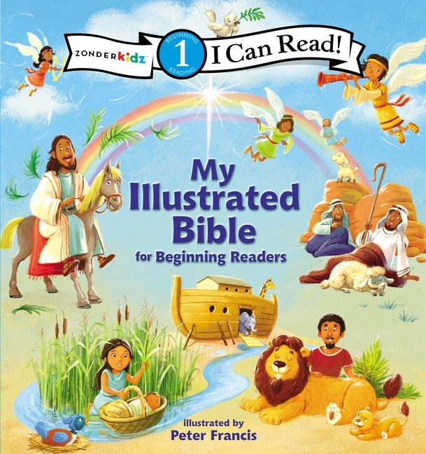 I Can Read My Illustrated Bible (Hard Cover)