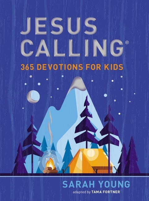 Jesus Calling: 365 Devotions for Kids (Boys Edition) (Hard Cover)