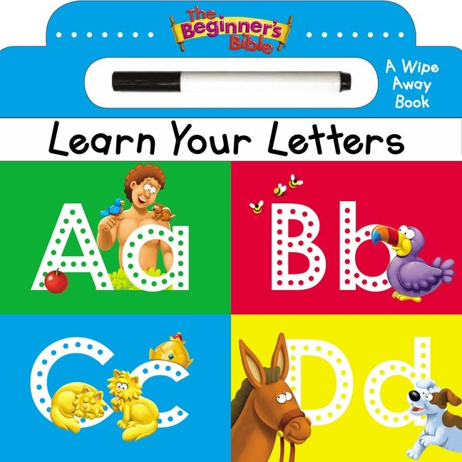 The Beginner's Bible Learn Your Letters (Board Book)