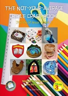 The Not-Your-Average Bible Craft Book 1 (Spiral Bound)