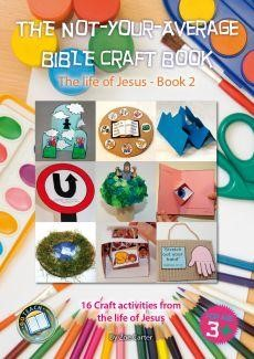 The Not-Your-Average Bible Craft Book 2 (Spiral Bound)
