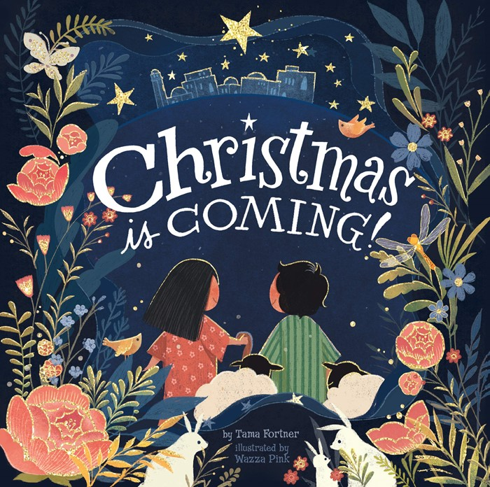 Christmas Is Coming! (Board Book)