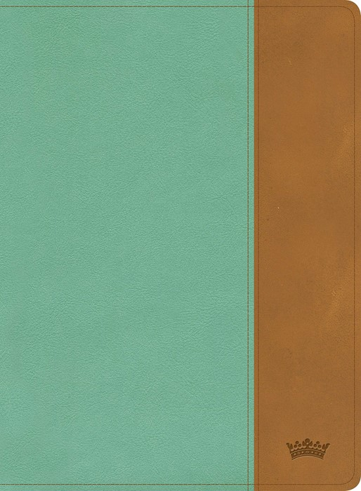 CSB Tony Evans Study Bible, Teal/Earth LeatherTouch (Imitation Leather)