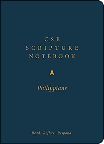 CSB Scripture Notebook, Philippians (Paperback)