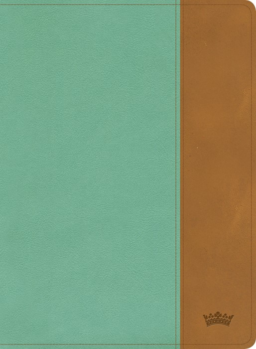 CSB Tony Evans Study Bible, Teal/Earth LeatherTouch, Indexed (Imitation Leather)