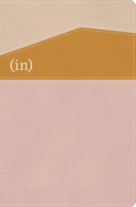 CSB (in)courage Devotional Bible, Desert/Mustard/Alabaster (Imitation Leather)