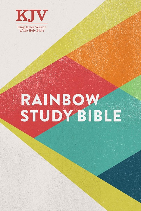 KJV Rainbow Study Bible, Hardcover (Hard Cover)