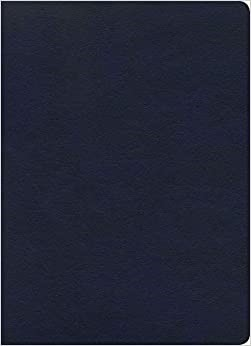KJV Study Bible, Full-Color, Navy LeatherTouch (Imitation Leather)