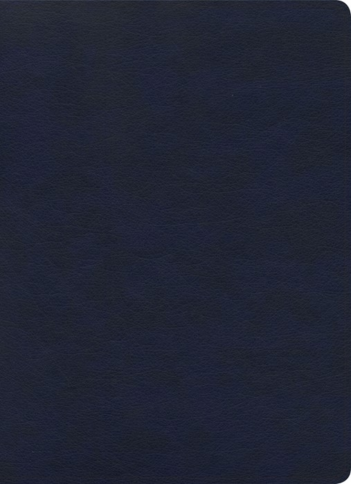 KJV Study Bible, Full-Color, Navy LeatherTouch, Indexed (Imitation Leather)