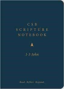 CSB Scripture Notebook, 1-3 John (Paperback)