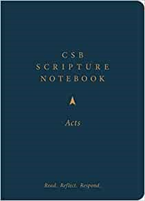 CSB Scripture Notebook, Acts (Paperback)