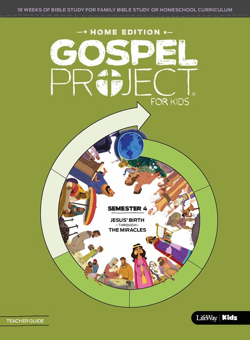 Gospel Project: Home Edition Teacher Guide, Semester 5 (Paperback)