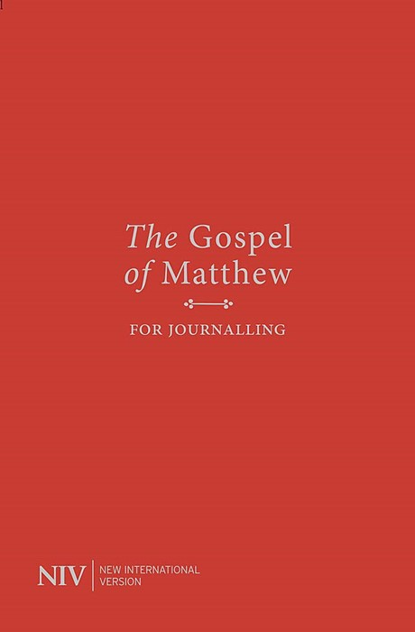 NIV Gospel of Matthew for Journalling (Paperback)