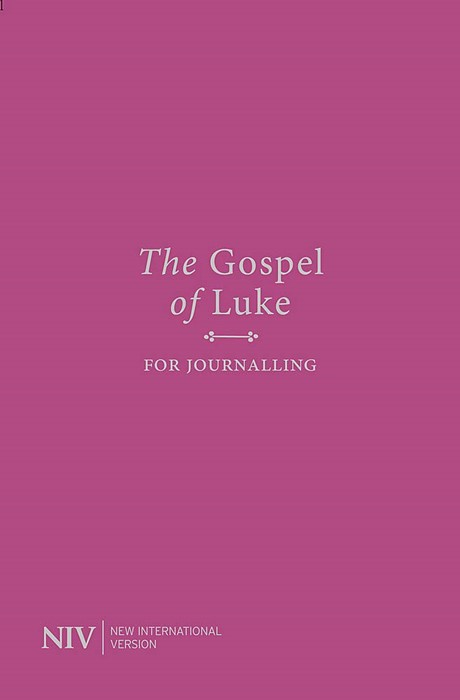 NIV Gospel of Luke for Journalling (Paperback)