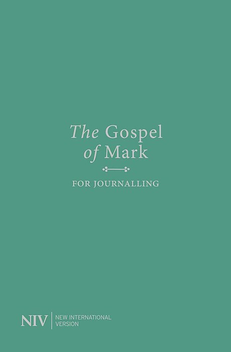 NIV Gospel of Mark for Journalling (Paperback)