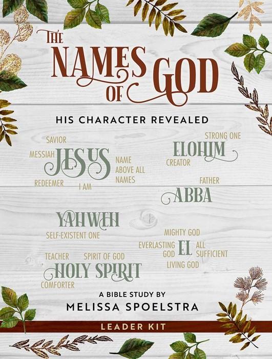 The Names of God Women's Bible Study Leader Kit (Kit)