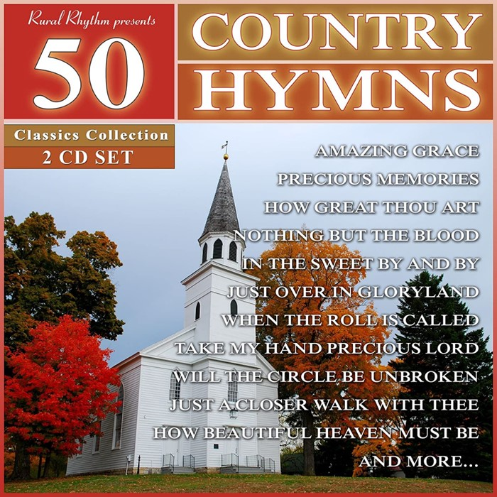 50 Country Hymns CD (CD-Audio)