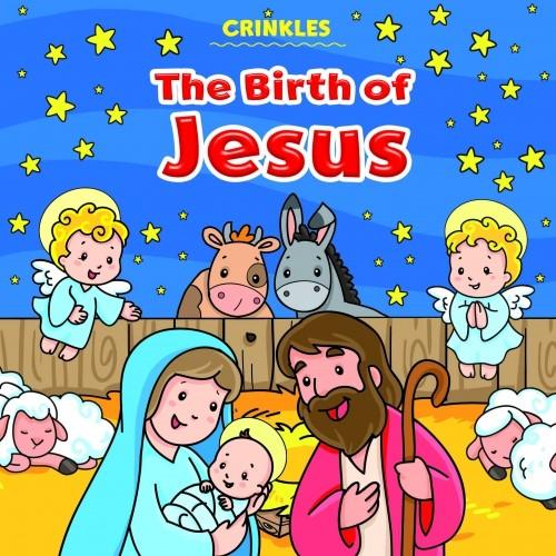 Crinkles: The Birth of Jesus (Rag Book)