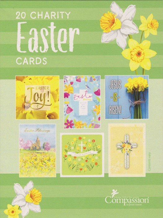 Easter Charity Assorted Boxed Cards (pack of 20) (Cards)