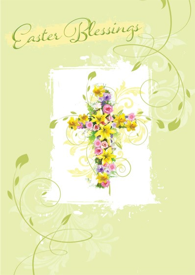 Easter Blessings Cards (pack of 5) (Cards)